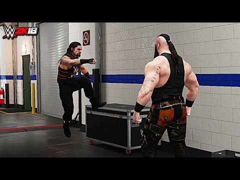 WWE 2K18 Top 10 Roman Reigns' Greatest Superman Punches!!!