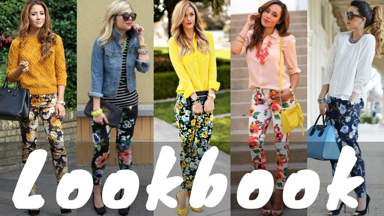 [VIDEO] – Latest Floral Pants Outfit Ideas Trend for Spring | Spring Lookbook 2018