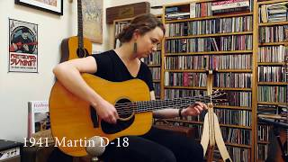 Vintage Martin D-18 Guitar Comparison with Courtney Hartman
