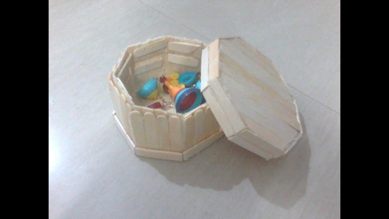 Diy How To Make Jewellery Box Using Ice Cream Sticks