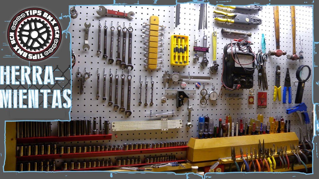 Herramientas fundamentales para tu bici mecanica bmx for Casas de madera para guardar herramientas