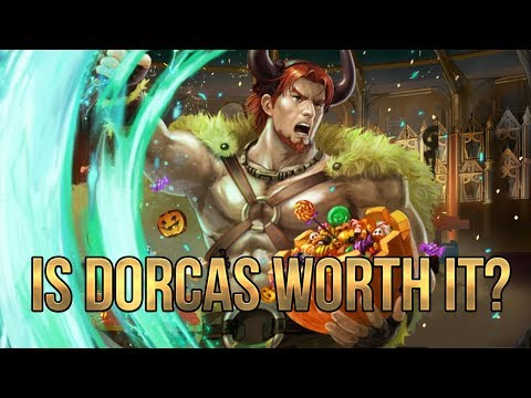 Should you use Halloween Dorcas? New Free Unit Review - Fire Emblem Heroes