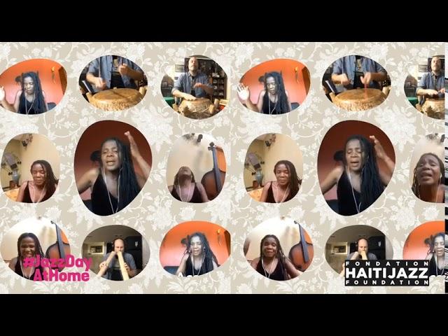 Felina Baker/Fondation Haiti Jazz (Haiti): Groovy Groovy; | #JazzDayAtHome 2020