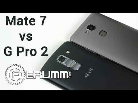 Huawei Mate 7 VS LG G Pro 2 сравнение. Альтернативы Nexus 6, Note 4 и iPhone 6 Plus от FERUMM.COM