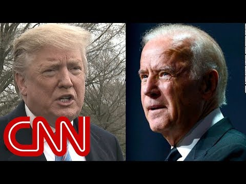 Trump weighs in on a potential Biden 2020 run
