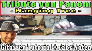 """★HANGING TREE """"Gesangs Melodie"""" Gitarren Tutorial für Anfänger leicht erklärt +TABS Video Lesson"""