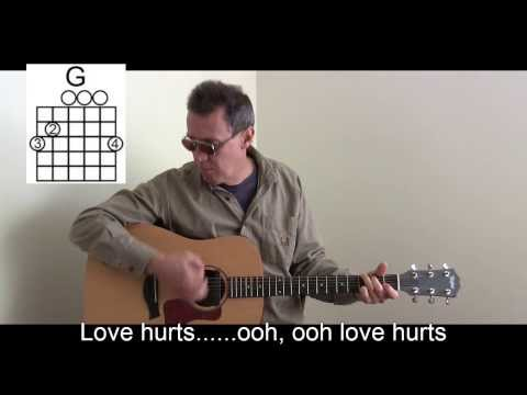 Love Hurts Cover With Lyrics/Chords To Play & Sing Along - P26