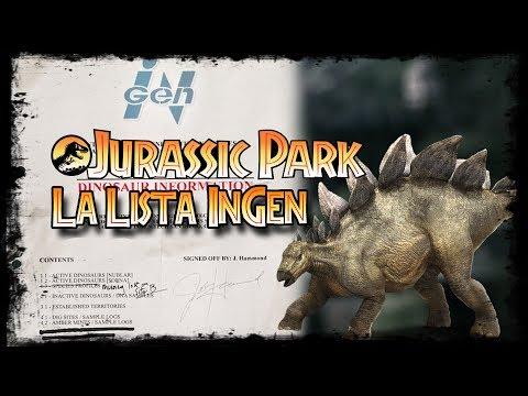 Jurassic Park Lost Files - Lista InGen (TRADUCIDA)