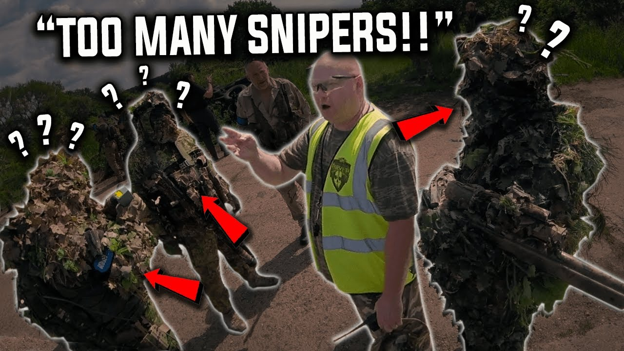 This is Why Airsoft Noobs HATE Ghillie Snipers..