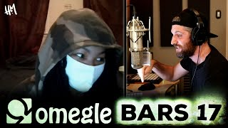 Harry Mack Forms A Crowd With NASTY Freestyle - Omegle Bars 17