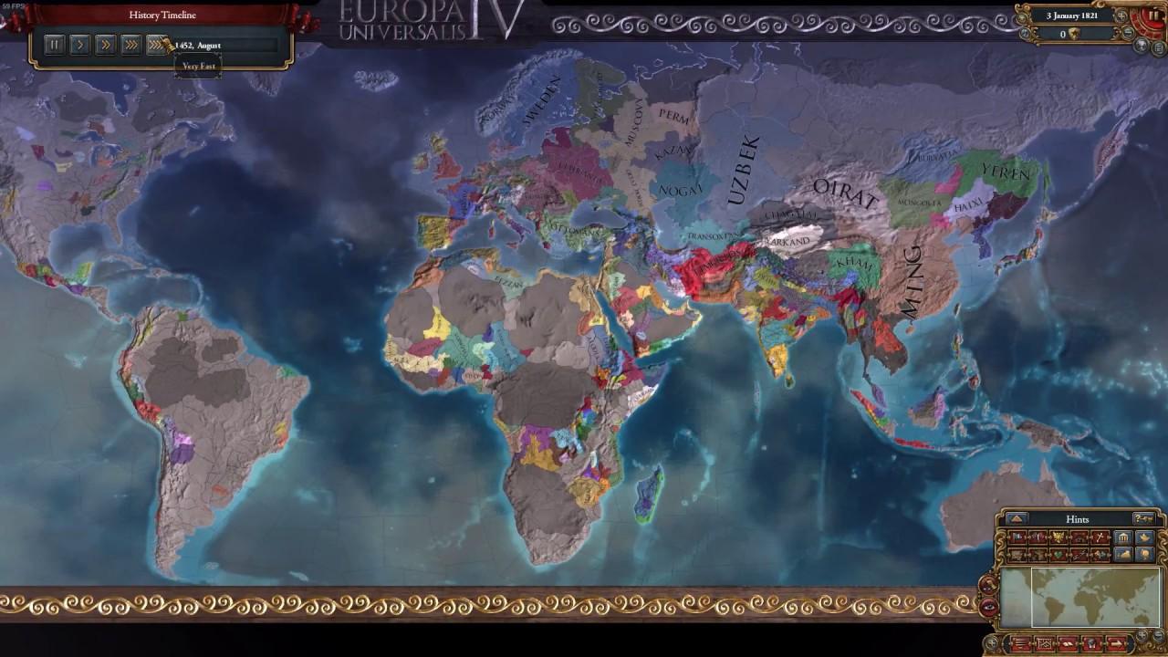 Europa Universalis IV Synthetics vs Jan Mayen