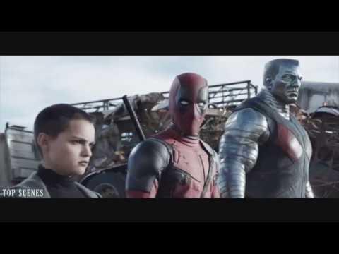 Szeméttelep jelenet | Deadpool (2016)