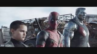 Szeméttelep jelenet - Deadpool