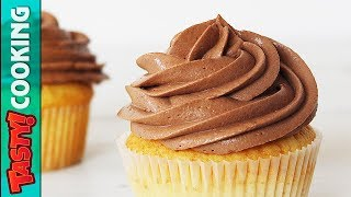 Chocolate Cream Cheese Frosting Recipe 🍰 Perfect For Cakes Cupcakes Eclairs 🍰 Tasty Cooking