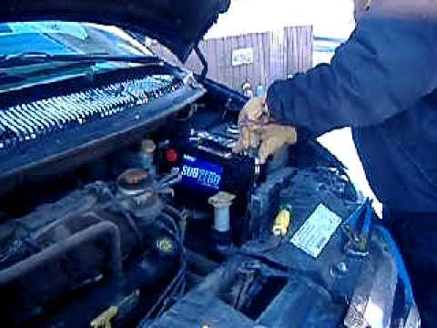 2002 Dodge Grand Caravan Battery Replacement