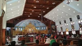 Тривандрум. Католический храм. Свадьба.