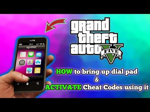 How to Bring Up the Dial Pad in GTA 5 and Use Cell Phone Number Cheat Codes