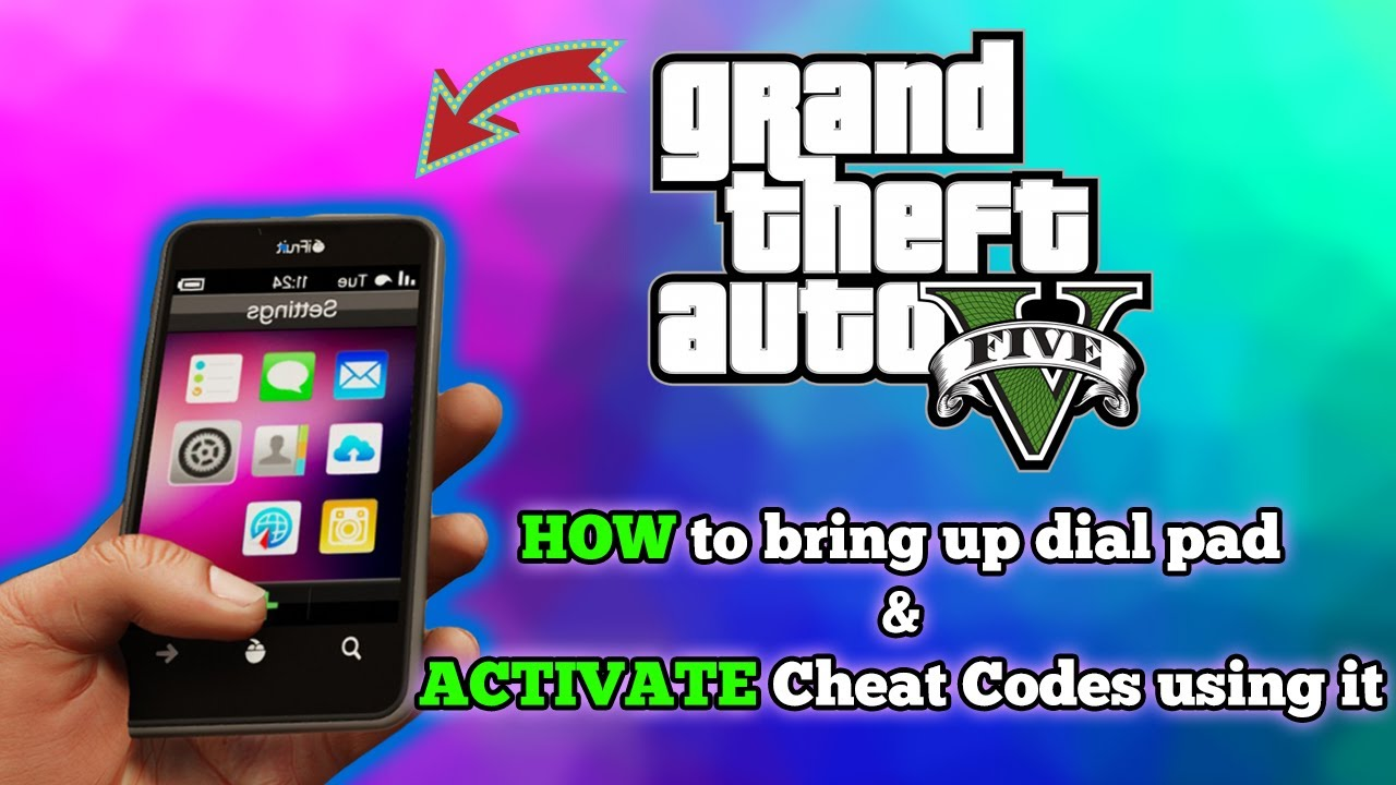 GTA 5 Cell Phone Cheats - PS4, Xbox One, PC