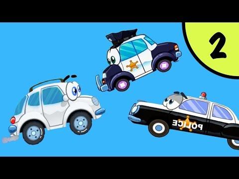 МАШИНКА ВИЛЛИ #2 - Вилли спешит на гонку. Часть 2. Мультфильм про машинки. Несносный Вилли Игрули TV