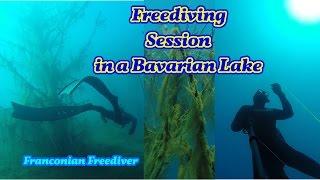 """Murner See """"Freediving in Bavaria"""" (HD)"""