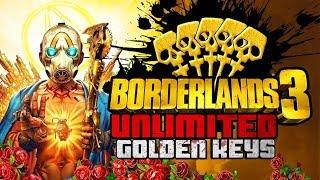 Borderlands 3 - Unlimited Golden Keys Glitch - After 1.02 Update | Playstation 4 & Xbox One