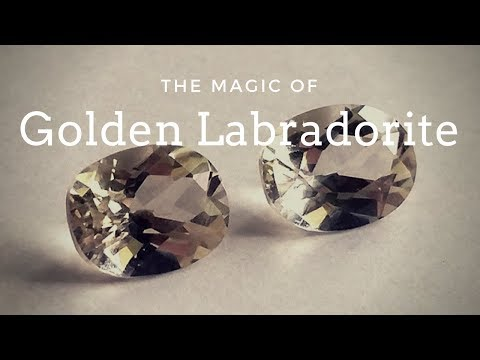 The Clarity Stone: The Magic of Golden Labradorite -- Crystal Meanings Meaning and Uses