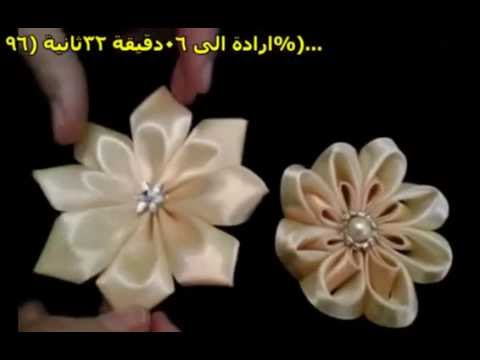 (educational video)How to make a rose(Creative Hands)
