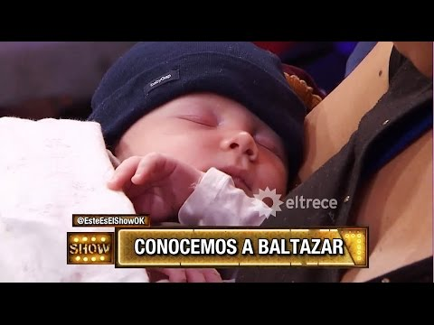 Presentación de Baltazar Alfonso, hijo de Pedro y Paula, en #EEES