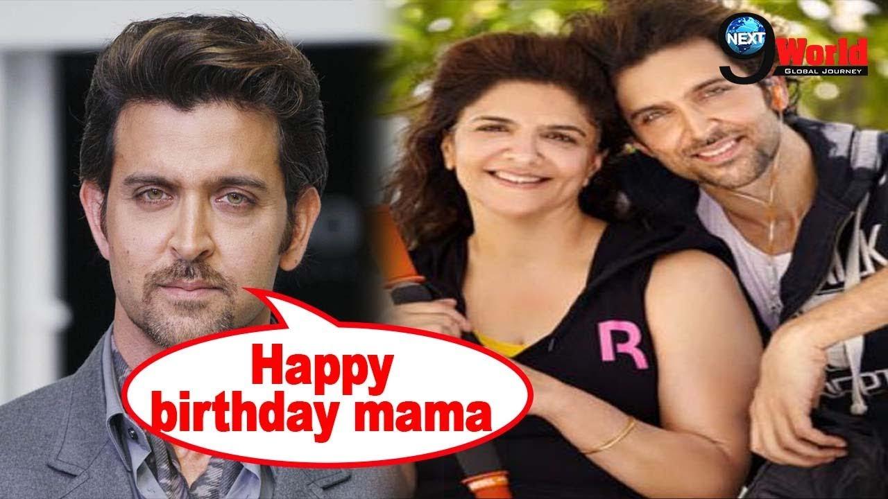 Hrithik Roshan heartfelt post for his mother on her Birthday|