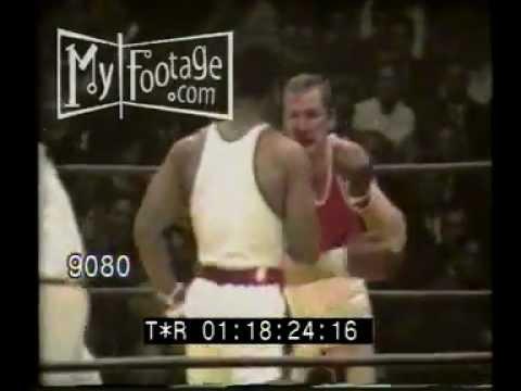 1968 Summer Olympics Mexico George Foreman vs Jonas Cepulis