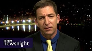 Glenn Greenwald on the Trump memo, the CIA and Russia - BBC Newsnight