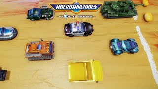 MICRO MACHINES WORLD SERIES - GAMEPLAY ITA - RICORDI DI GIOVENTÙ