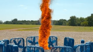 Fire Tornado in Slow Motion - The Slow Mo Guys