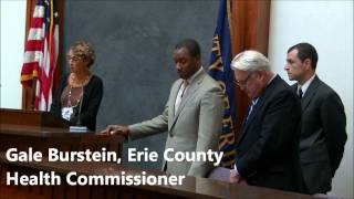 Erie County Legislature Recognizes Lead Poisoning Prevention Week