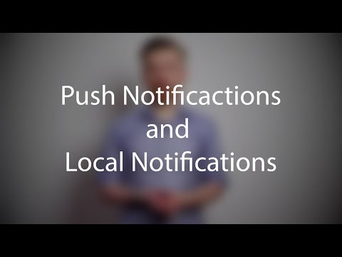 Push Notifications and Local Notifications - Tutorial - Thomas Hanning