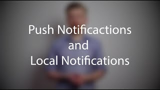 Push Notifications and Local Notifications (Xcode 9, iOS 11)