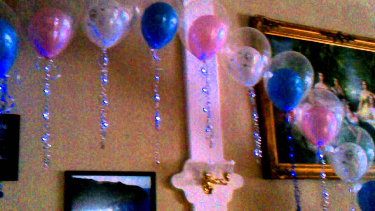 Decoracin con globos  arco con luces  YouTube