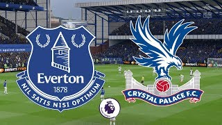 Premier League 2018/19 - Everton Vs Crystal Palace - 21/10/18 - FIFA 19