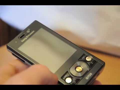 Test Sony Ericsson G705