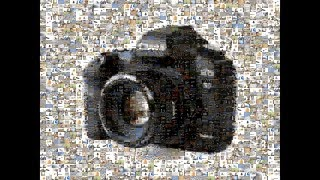 Photo Mosaic with AndeaMosaic