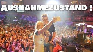 AUSNAHMEZUSTAND ! Tour-Start mit 12.000 Menschen :O