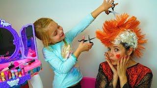 Mommy & Margo Play Pretend Beauty Salon | Make up Hair Salon Toys