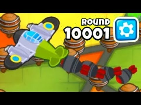 Bloons TD 6 - When You Get a Round 10,000 Challenge ft. ISAB