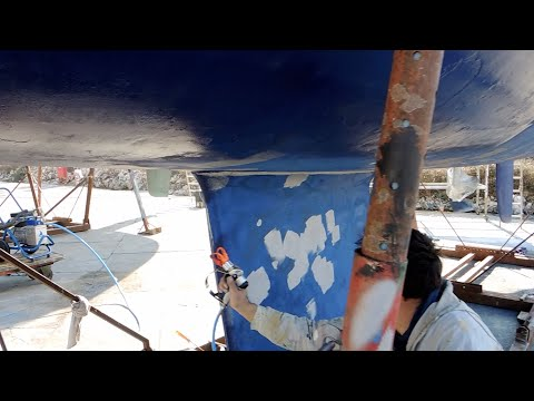 Airless Paint Sprayer TECNOVER mod. MARINE M12 for nautical applications
