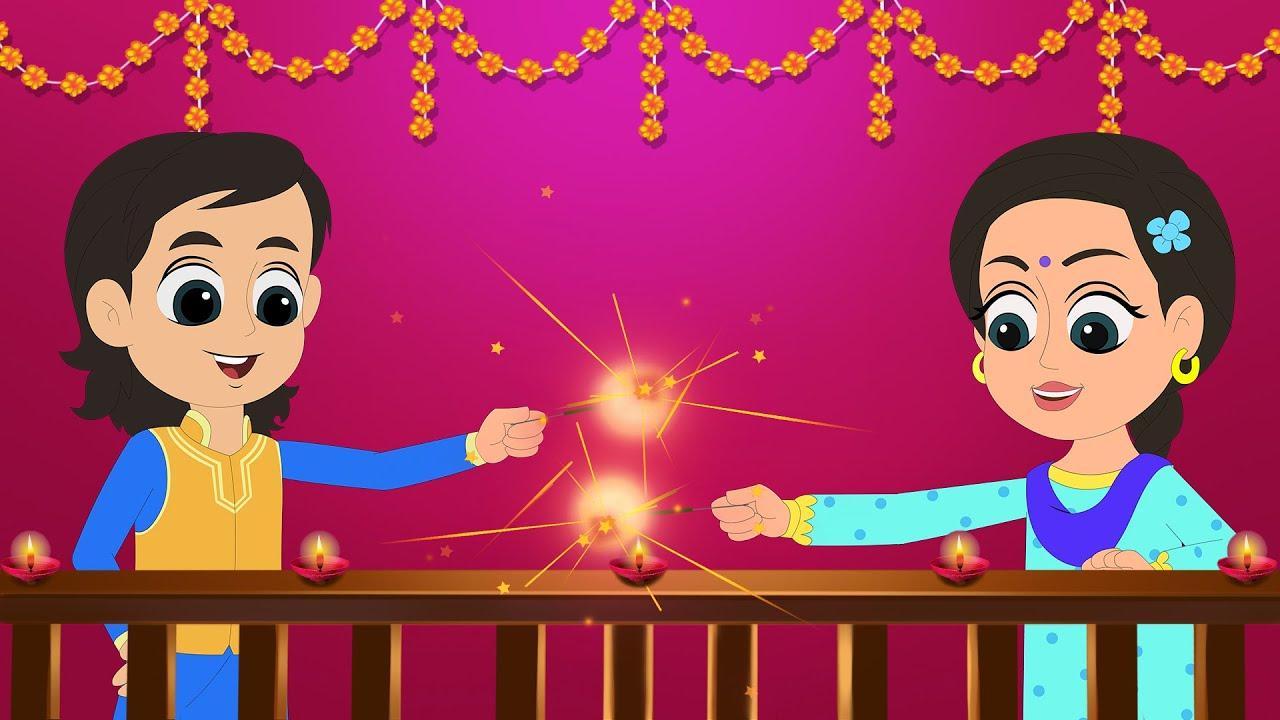 Diwali Diwali Song by Fun For Kids TV - Hindi Rhymes