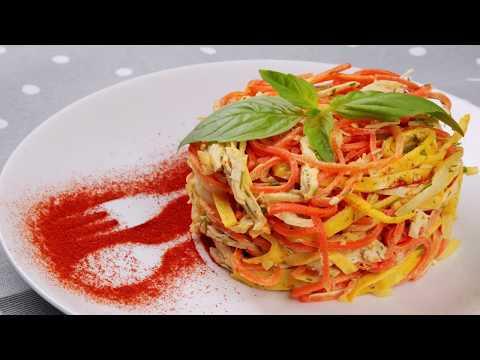 5 необычно вкусных салатов с курицей, которые взорвут ваши рецепторы!