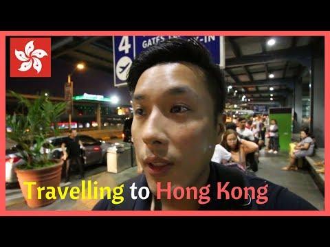 Travel from Manila To Hong Kong Vlog