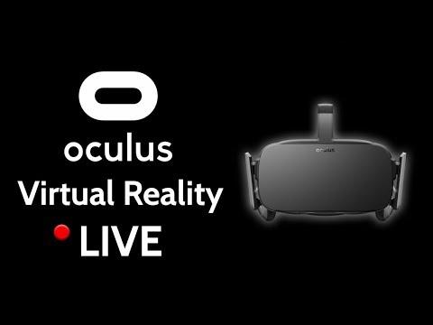 Oculus Rift VR (TRYING VARIOUS VR GAMES)
