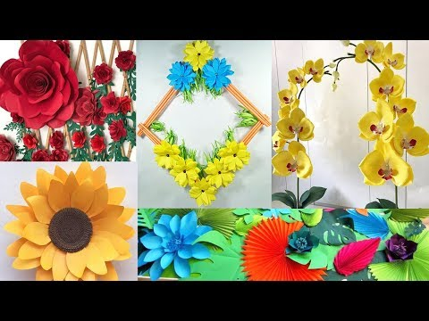 5 DIY Bedroom Decor 2019 !!! DIY Projects || Decorate with me From Paper
