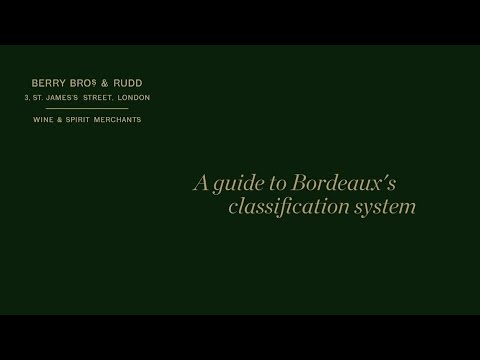 wine article A guide to The Bordeaux classification system of 1855